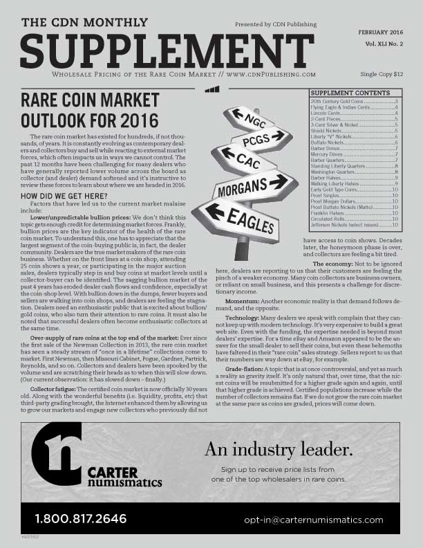 CDN Monthly Supplement